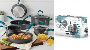 11-Pc. Hard-Anodized Cookware Set