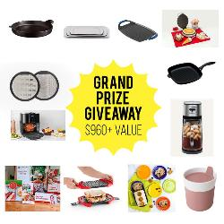 12 Days of Christmas in July Foodie Grand Prize Giveaway!