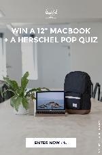 "12"" Macbook and a Pop Quiz Backpack"
