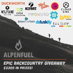 1st Prize - $2000 in outdoor gear and food & 2nd Prize - $1300 in outdoor gear and food!
