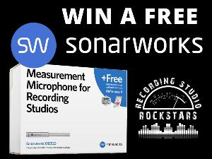 1st prize: Sonarworks Reference 4 Studio with the XREF20 Microphone for 1 winner.  2nd prize: Sonarworks Reference 4 Headphone Edition for 3 winners.
