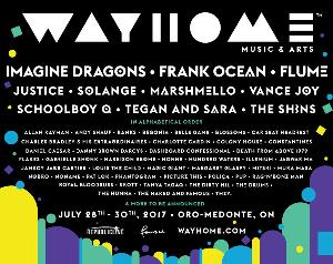 2 General Admission Tickets + Camping to WayHome Music & Arts 2017 ($650)