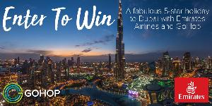 2 Roundtrip Tickets to Dubai