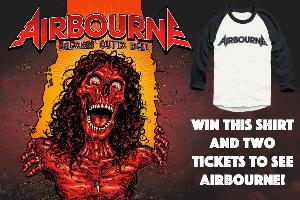 2 Tickets to see Airbourne