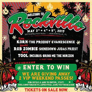 2 VIP Passes To Welcome To Rockville 2019