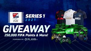2 x Grand Prizes: $200 SCUF Gift Card, JLab Studio Pro Headset, JLab Talk Pro Microphone, eMLS Jersey & 12,000 FIFA Points! 19 x 2nd Runner-Up Prizes: 12,000 FIFA Points!