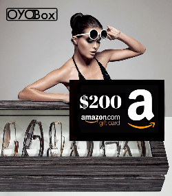 200 amazon, woman in sunglasses in background