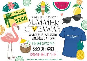 2017 Summer Giveaway