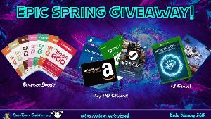 2021 Spring Gaming Bundle Giveaway