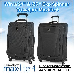 "21"" & 25"" Exp Spinner from Travelpro Maxlite4"