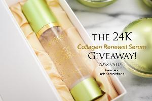 24K Collagen Renewal Serum Giveaway