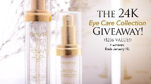 24K Eye Care Collection Giveaway
