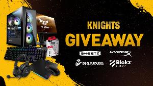 3 awesome prizes!! Grand Prize= Intel Z490 Core i7 Gaming PC, ASUS TUF VG259QM Gaming Monitor & HyperX Cloud Earbuds (Wireless)...+ lots more!!