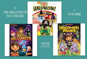 3 Nickelodeon Halloween DVDs