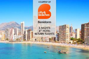 3-night 4* Holiday Trip to Benidorm, Spain Giveaway!