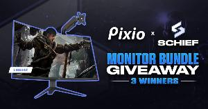 3 Winners will win a Pixio 165Hz Curved Gaming Monitor & Monitor Arm Stand each!!