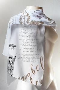 3 X Book scarf of choice. You can choose between the Alice in Wonderland Book Scarf, Pride and Prejudice Book Scarf OR the Shakespeare Book Scarf from Enjoy the Traffic