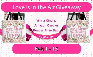30 Prizes-27X $5 Amazon Card Winners (Open to the World); 2 Reader Inspired Prize Bags (USA Only) & 1 Waterproof Kindle Paperwhite Winner (Alternate International Prize)!!