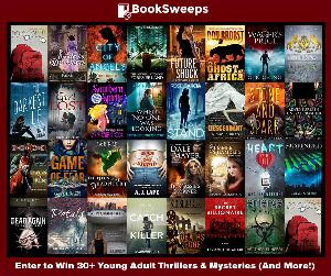 30+ Young Adult Thrillers & Mysteries & a Kindle Fire