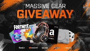 34 Winners: 1 winner:Cougar Headset; 1 winner:$100 Amazon Giftcard; 1 winner:Playstation Classic; 1 winner: Bluemouth Controller PS/XBOX/Switch; 30 winners: Boogie Bomb and Liiama Spray Codes.