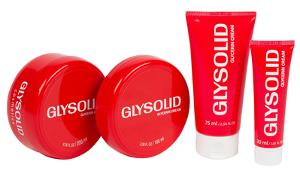 4-piece set of Glysolid Skin Cream