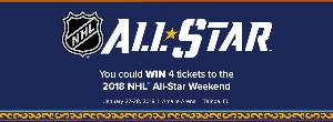 4 Tickets to the NHL All-Star Skills Competition & the NHL All-Star Game
