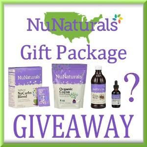 4 WINNERS! NuNaturals Gift Package Giveaway