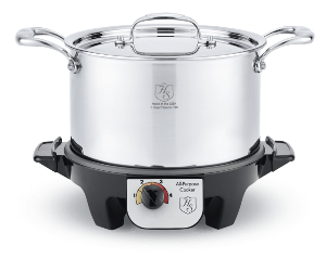 5-Quart Stockpot with Slow Cooker Base ($429)