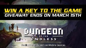 5 Winners will win a Dungeon of the Endless mobile key!!
