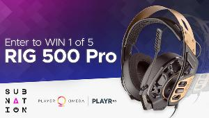 5 winners will win a RIG 500 Pro Gaming Headset!!