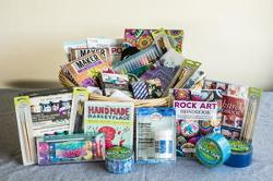500 Craft-Enthusiast Gift Basket Giveaway""