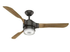 "54"" HUNTER WI-FI-ENABLED APACHE CEILING FAN"