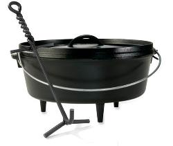 6 QT. LODGE CAMP DUTCH OVEN