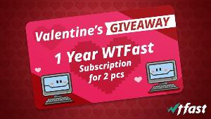 6 winners will win 1-Year WTFast Subscription for 2 PCs!!