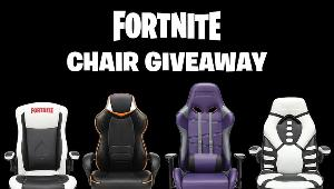 6 WINNERS WILL WIN A FORTNITE GAMI NG CHAIR FROM RESPAWN PRODUCTS!!