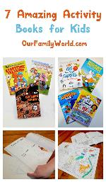 7 Amazing Activity Books For Kids Giveaway
