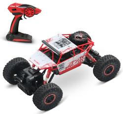 A 1/18 Rock Crawler RC Truck