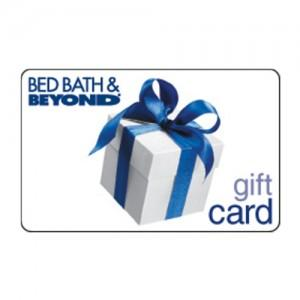 a $100 Bed Bath & Beyond Gift Card