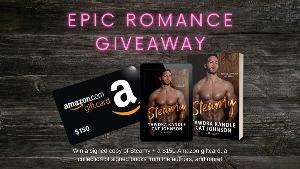A $150 Amazon giftcard, A collection of signed books from the authors in the anthology, A signed copy of Steamy & A collection of surprise swag!!