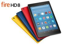 A Amazon Kindle Fire HD 8 Tablet with Alexa""