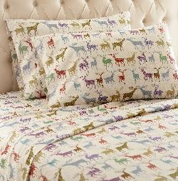 A Chance To Win Micro Flannel Sheets