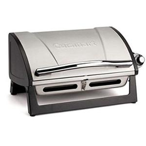 """A Cuisinart Grillster Portable Gas Grill"""""""