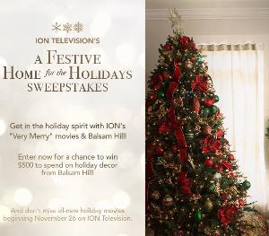 A Festive Home for the Holidays Sweepstakes