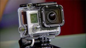 A GoPro HERO3+ Silver Edition