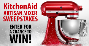 a KitchenAid Artisan Mixer