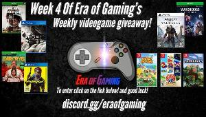 A lucky winner will receive a game of their choice! Valued up to $60 USD (Digital code)!