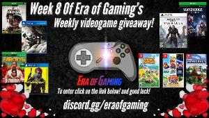 A lucky winner will receive a game of their choice! Valued up to $60 USD (Digital code)