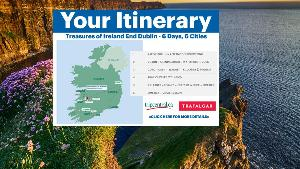 a map of ireland
