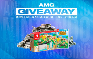 A Nintendo Switch, Animal Crossing game, Cash.