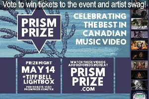 a Pair of Tickets to the Prism Prize Event & Artist Swag ($100)